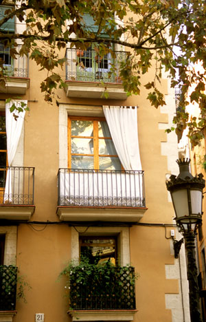 Eixample district of Barcelona